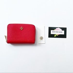 TORY BURCH | Emerson Zip Coin Case NWT